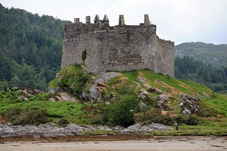 Castle Tioram Feature Page On Undiscovered Scotland