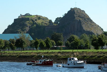 Dumbarton Castle Feature Page On Undiscovered Scotland