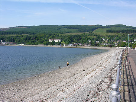 Holy Loch Scotland Map.Dunoon Feature Page On Undiscovered Scotland