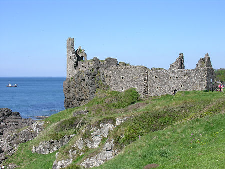 Dunure Castle from the South