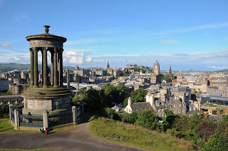 Calton Hill Feature Page On Undiscovered Scotland