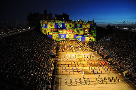 Royal edinburgh military tattoo feature page on for Royal military tattoo