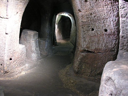 Gilmerton Cove Feature Page on Undiscovered Scotland