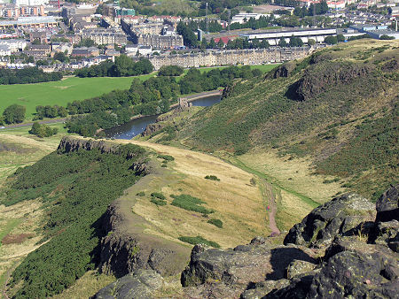 Holyrood Park Feature Page on Undiscovered Scotland
