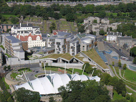 Scottish Parliament Feature Page On Undiscovered Scotland