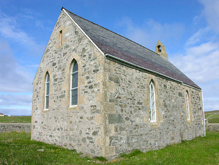 Fair Isle Chapel Feature Page on Undiscovered Scotland
