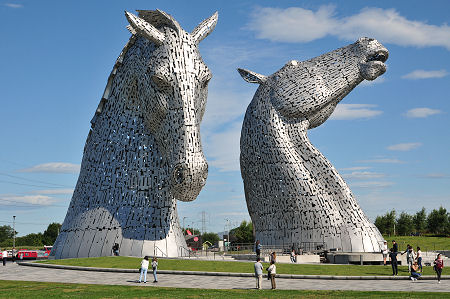 Image result for the kelpies