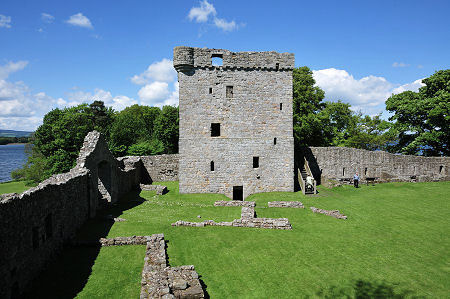 Lochleven Castle from the Curtain Wall