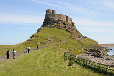 Lindisfarne Castle Feature Page On Undiscovered Scotland