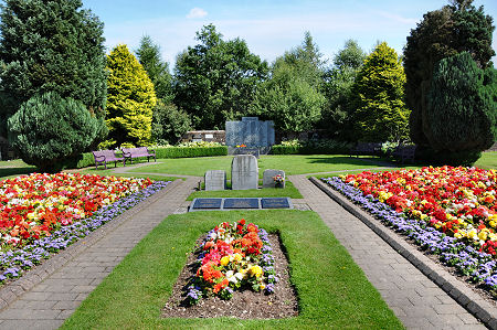 Lockerbie Garden of Remembrance Feature Page on Undiscovered Scotland