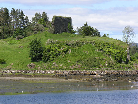 Aros Castle Feature Page On Undiscovered Scotland