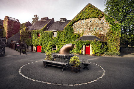 The Courtyard at Blair Athol Distillery