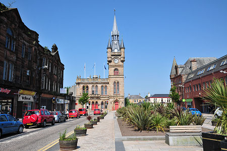 Renfrew feature page on undiscovered scotland renfrew town hall sciox Image collections