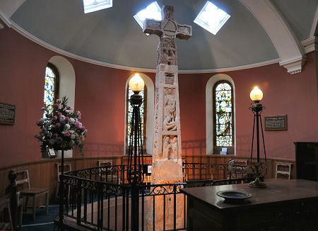 The Ruthwell Cross in its Apse