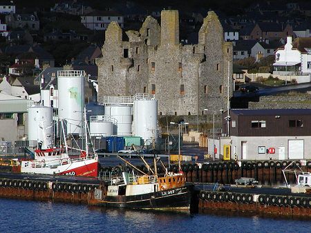 Scalloway Castle Feature Page on Undiscovered Scotland