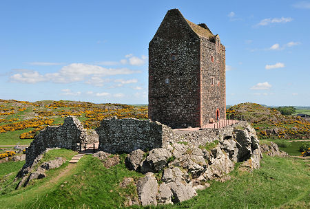 Smailholm Tower from the South
