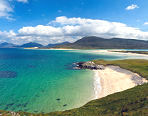 View of Western Isles Beaches