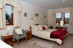 One of the guest bedrooms at Ashcroft Farmhouse