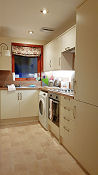 The new kitchen at Craigavon Cottage