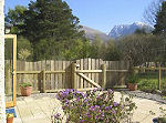 View of Ben Nevis from the garden