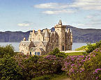 View of Glengorm Castle