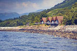 View of Loch Linnhe Waterfront Lodges