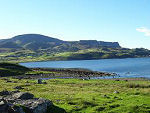 View of Staffin Bay