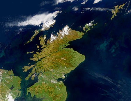 Scotfax Geography Of Scotland On Undiscovered Scotland